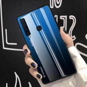 GLASS BE YOURSELF TWILIGHT BLACK/BLUE OVITEK ZA SAMSUNG GALAXY A9 (2018)