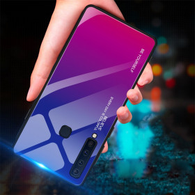 GLASS BE YOURSELF TWILIGHT BLUE/PURPLE OVITEK ZA SAMSUNG GALAXY A9 (2018)