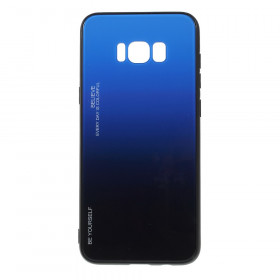 GLASS BE YOURSELF TWILIGHT BLACK/BLUE OVITEK ZA SAMSUNG GALAXY S8 PLUS