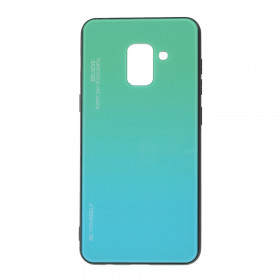 GLASS BE YOURSELF TWILIGHT MINT OVITEK ZA SAMSUNG GALAXY A8 (2018)