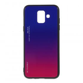 GLASS BE YOURSELF TWILIGHT BLUE/PURPLE OVITEK ZA SAMSUNG GALAXY A6 (2018)