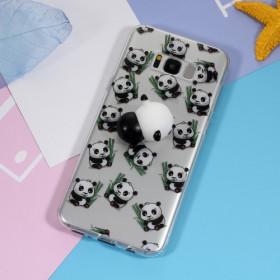 3D SILIKON PANDA - SAMSUNG GALAXY S8 PLUS