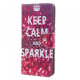 KEEP CALM AND SPARKLE - SONY XPERIA XA1 ULTRA