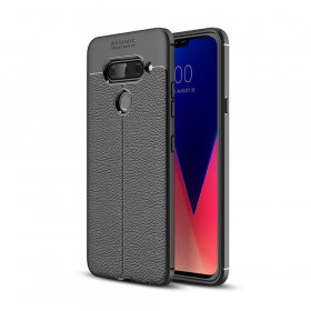 FLEX LEATHER ČRN OVITEK ZA LG V40 THINQ