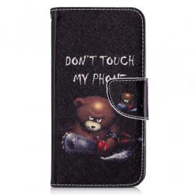 DON'T TOUCH MY PHONE BEAR - LG K10 (2017)