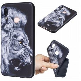 SLIM BLACK ANGRY LION - HUAWEI P20 LITE