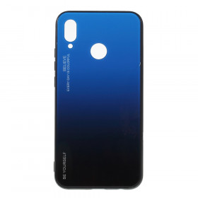 GLASS BE YOURSELF TWILIGHT BLACK/BLUE OVITEK ZA HUAWEI P20 LITE