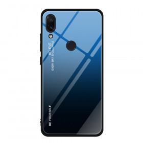 GLASS BE YOURSELF TWILIGHT BLACK/BLUE OVITEK ZA XIAOMI REDMI NOTE 7