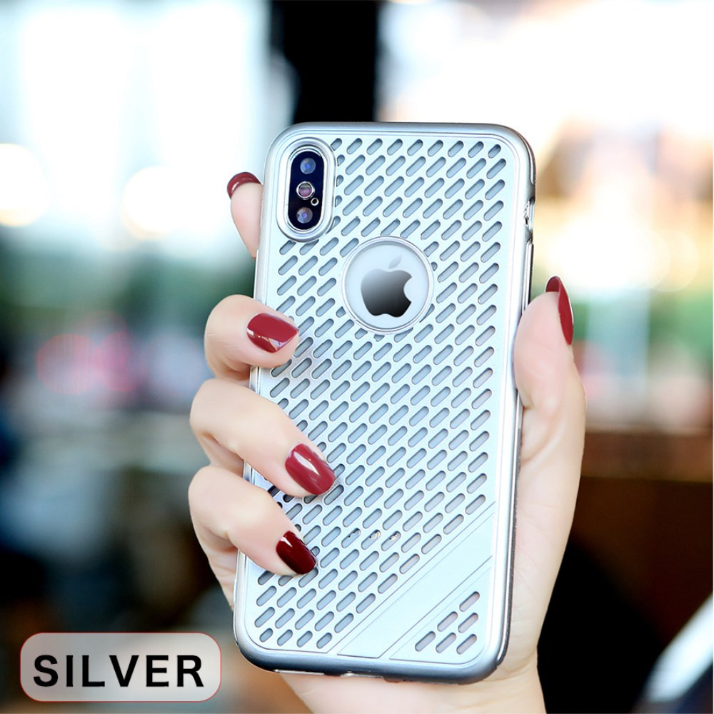 SLIM HOLLOW SILVER - APPLE IPHONE XS MAX