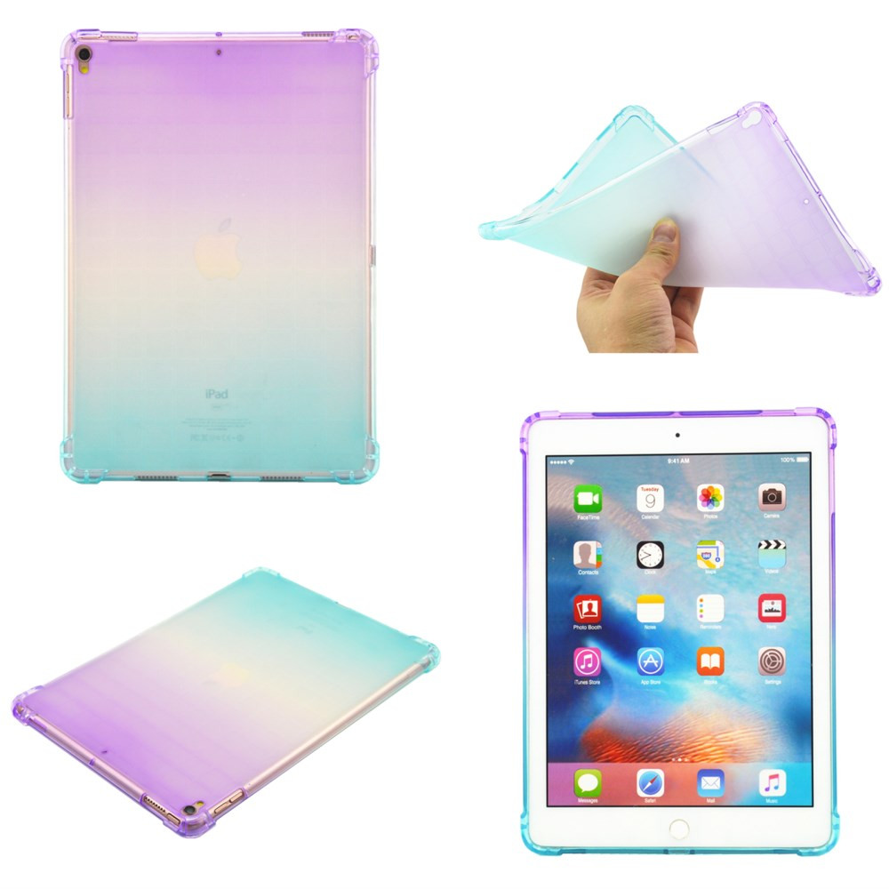 ANTI-DROP VIJOLČNO/ZELEN TPU GEL OVITEK ZA IPAD AIR 10,5' (2019) / IPAD PRO 10,5 ' (2017)