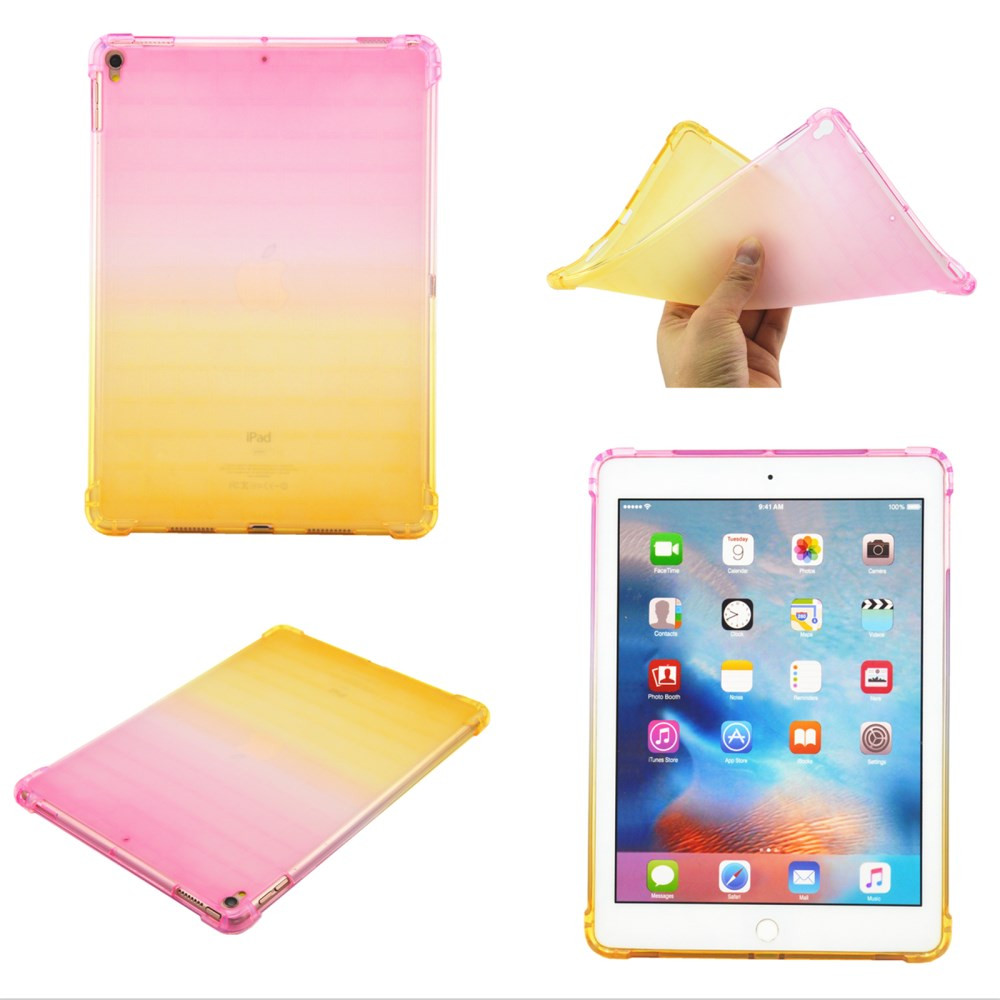ANTI-DROP PINK/RUMEN TPU GEL OVITEK ZA IPAD AIR 10,5' (2019) / IPAD PRO 10,5 ' (2017)