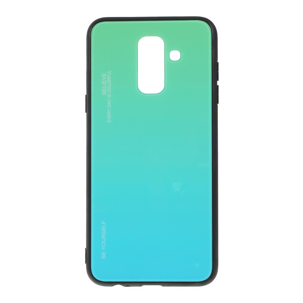 GLASS BE YOURSELF TWILIGHT MINT OVITEK ZA SAMSUNG GALAXY A6 PLUS (2018)