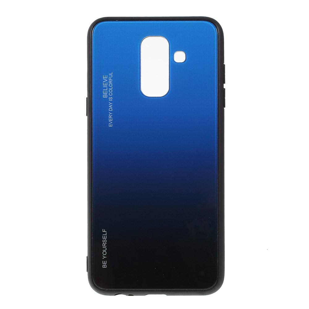 GLASS BE YOURSELF TWILIGHT BLACK/BLUE OVITEK ZA SAMSUNG GALAXY A6 PLUS (2018)