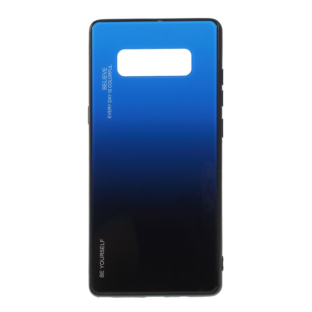 GLASS BE YOURSELF TWILIGHT BLACK/BLUE OVITEK ZA SAMSUNG GALAXY NOTE 8