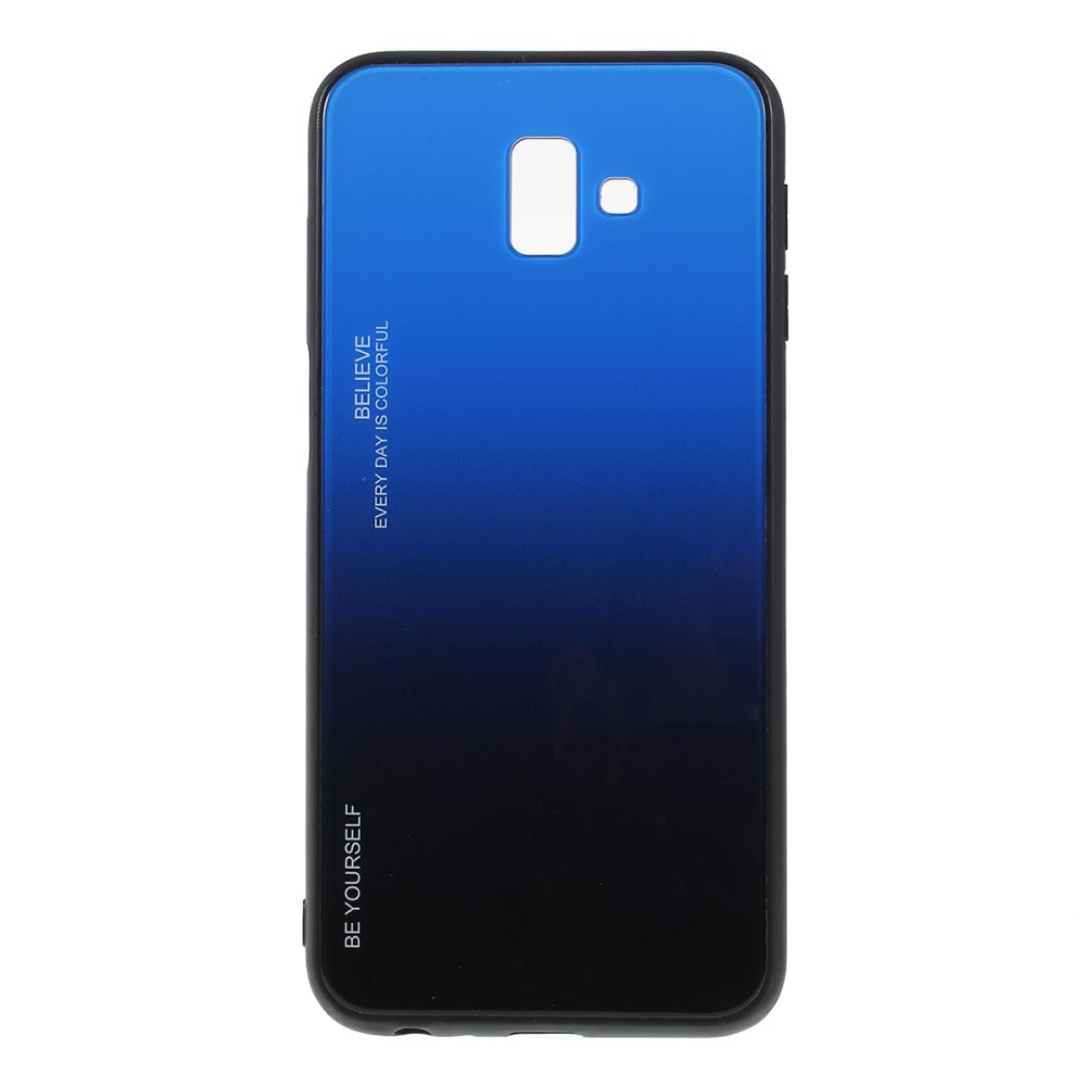 GLASS BE YOURSELF TWILIGHT BLACK/BLUE OVITEK ZA SAMSUNG GALAXY J6 PLUS (2018)