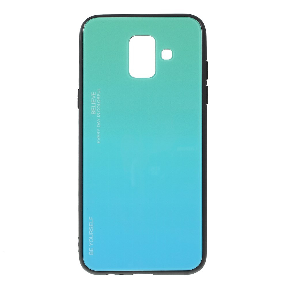 GLASS BE YOURSELF TWILIGHT MINT OVITEK ZA SAMSUNG GALAXY A6 (2018)