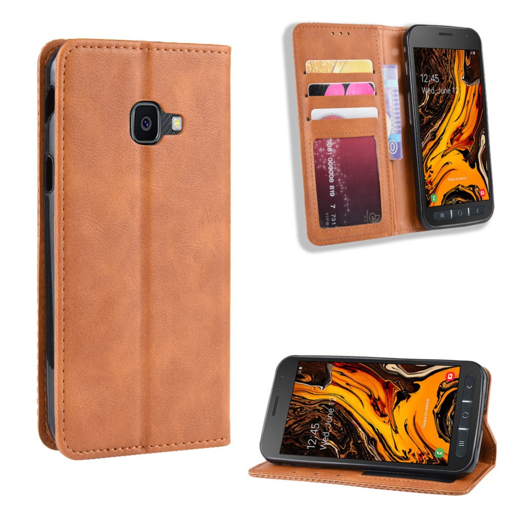 VINTAGE AUTO ABSORBED RJAV ETUI ZA SAMSUNG GALAXY XCOVER 4 / GALAXY XCOVER 4S