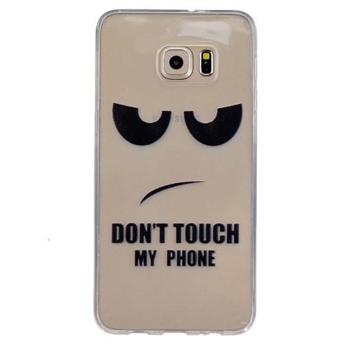 SLIM DON'T TOUCH MY PHONE - SAMSUNG GALAXY S6 EDGE +