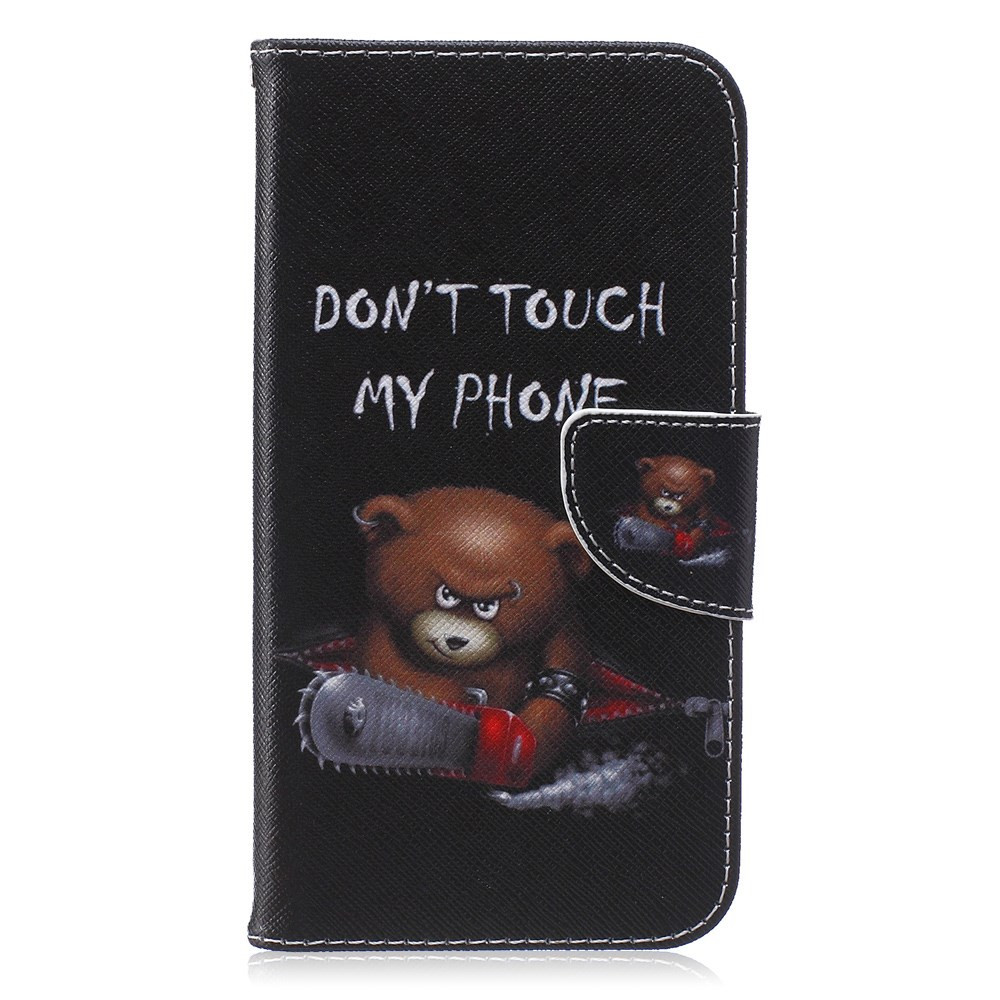 DON'T TOUCH MY PHONE BEAR - SAMSUNG GALAXY J7