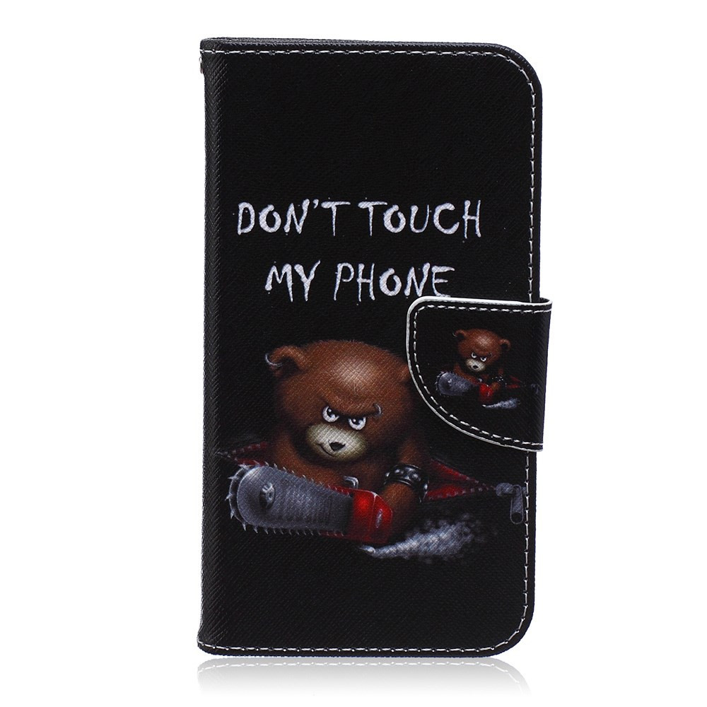DON'T TOUCH MY PHONE BEAR - SAMSUNG GALAXY S5