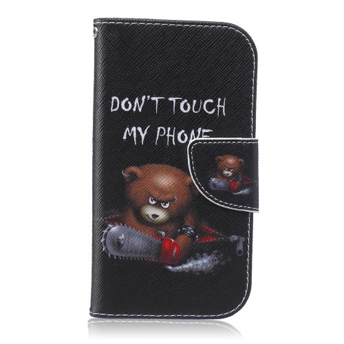 DON'T TOUCH MY PHONE BEAR - SAMSUNG GALAXY S4