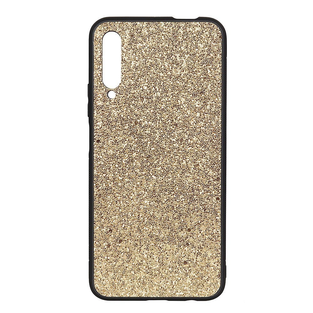 SLIM GLITTER LEATHER ZLAT OVITEK ZA HUAWEI P SMART PRO (2019)
