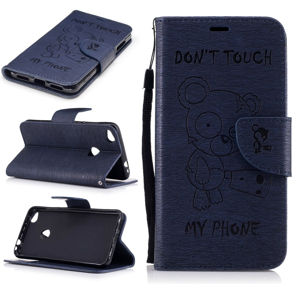 BEARS DON'T TOUCH MY PHONE MODER ETUI ZA HUAWEI HONOR 8 LITE