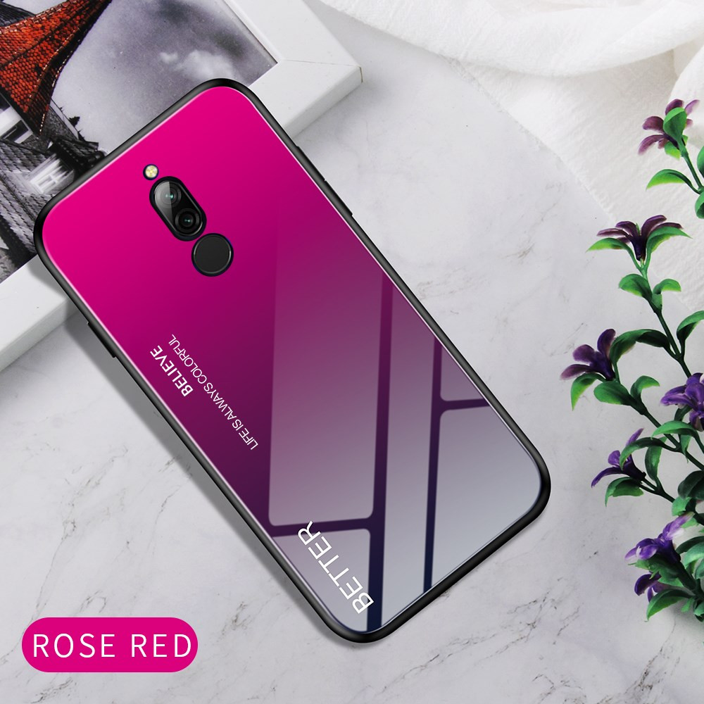 GLASS ROSE RED OVITEK ZA XIAOMI REDMI 8