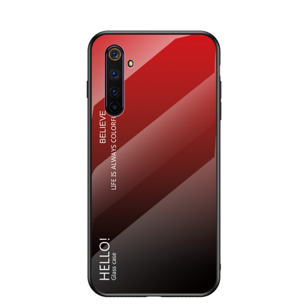 GLASS HELLO! RED/BLACK OVITEK ZA REALME 6 PRO