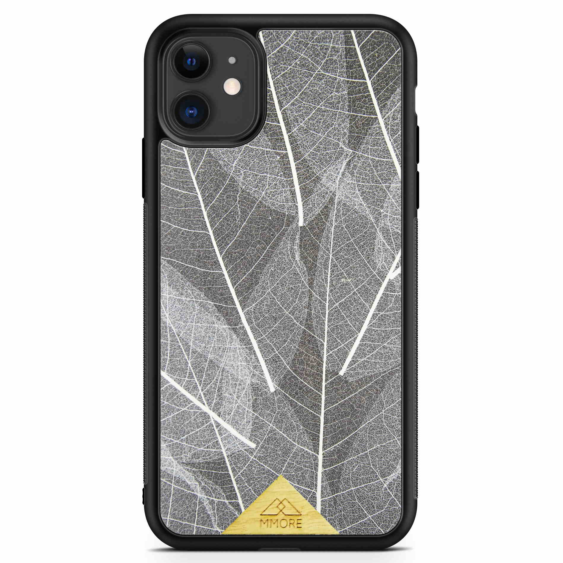 SKELETON LEAVES - ORGANSKI OVITEK ZA APPLE IPHONE 11