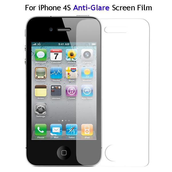 IPHONE 4 ZAŠČITNA FOLIJA MAT (ANTI-GLARE)